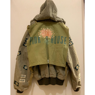 PINK HOUSE - used 90'S PINK HOUSE ブルゾン