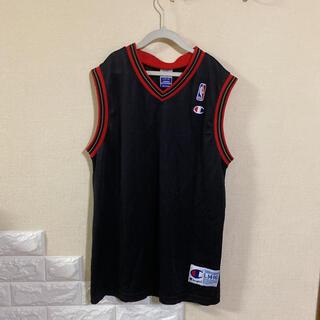 Champion - チャンピオン NBA ユニフォーム ゲームシャツ アイバーソン