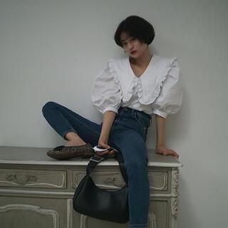 Honey mi Honey - Bibiy. Paris frill collar blouse