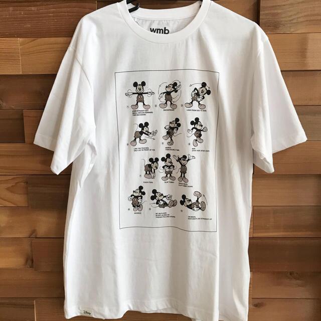体操ミッキー Tシャツ ワークマンプラス メンズのトップス(Tシャツ/カットソー(半袖/袖なし))の商品写真