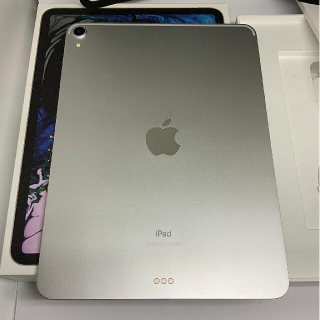 Apple(アップル)の美品 iPad Pro 11インチ 64GB シルバー  wifi おまけ付き スマホ/家電/カメラのPC/タブレット(タブレット)の商品写真