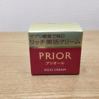 プリオール(PRIOR)のプリオール リッチ美活クリーム 40g(フェイスクリーム)