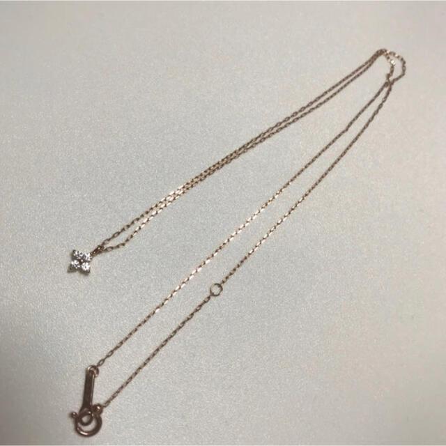 4℃(ヨンドシー)の4℃♡ネックレス レディースのアクセサリー(ネックレス)の商品写真