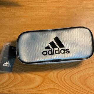 アディダス(adidas)の【新品】アディダス adidas 筆箱 ペンケース 銀黒(ペンケース/筆箱)