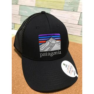 パタゴニア(patagonia)の日本未発売 新品)Patagonia Cap ロゴキャップ(BLACK)(ウエア)