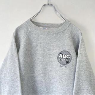 Hanes - 90年代 USA製 ABC STORES HAWAII ロゴ スウェット
