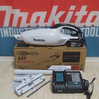 Makita - 新品未使用! マキタ CL181FDZW 18V 充電式 クリーナー フルセット