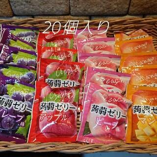 コストコ(コストコ)のコストコ☆こんにゃくゼリー4種×各5個(菓子/デザート)