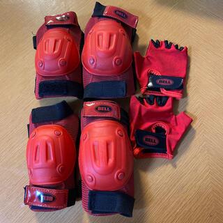 BELL - BELL 自転車プロテクター 肘・膝当て・手袋