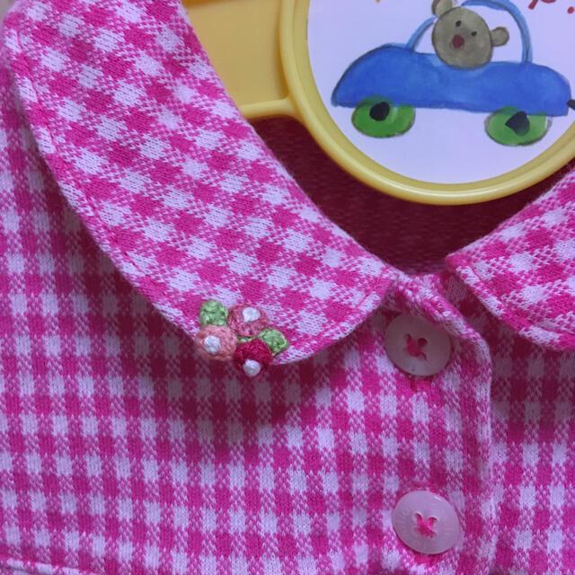 familiar(ファミリア)のシャツ キッズ/ベビー/マタニティのベビー服(~85cm)(シャツ/カットソー)の商品写真