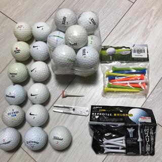 NIKE - ゴルフボール 25個  ティー フォーク等