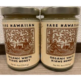 RARE HAWAIIAN ORGANIC WHITE KIAWE HONEY(菓子/デザート)