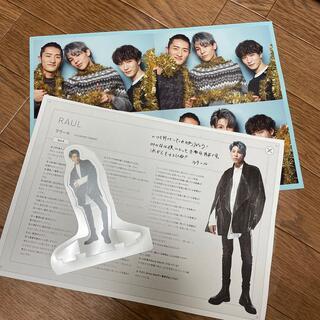Johnny's - 【ラウール】Snow Manカレンダー 掲示板 カスタムスタンド 混合 アクスタ
