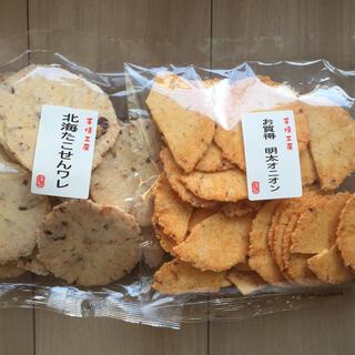 明太オニオン、北海たこせんワレ  煎餅 えびせんべい たこせんべい(菓子/デザート)