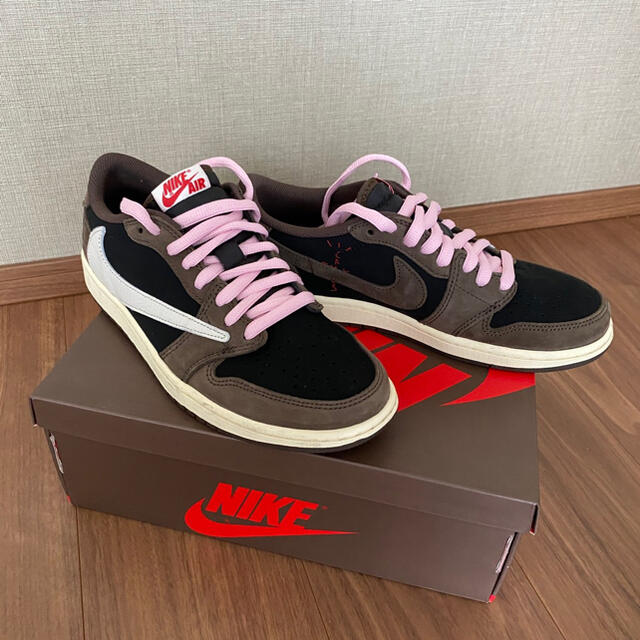 NIKE(ナイキ)のJordan1 Retro Low OG SP Travis Scott メンズの靴/シューズ(スニーカー)の商品写真