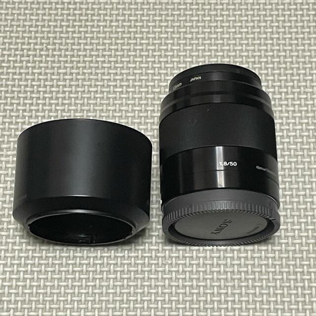SONY(ソニー)のソニー 単焦点レンズ E 50mm F1.8 OSS APS-Cフォーマット専用 スマホ/家電/カメラのカメラ(レンズ(単焦点))の商品写真