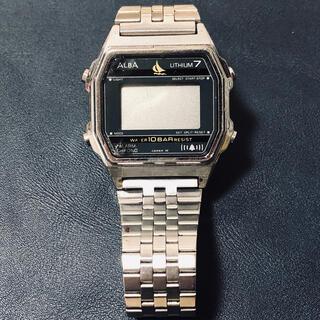 アルバ(ALBA)のSEIKO/ALBA アルバ リチウム7  デジタル腕時計 ビンテージ(腕時計(デジタル))