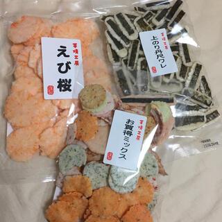 上のり丹尺ワレ、お買得ミックス、えび桜  煎餅 えびせんべい(菓子/デザート)