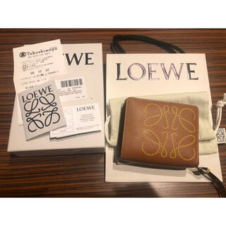 LOEWE - 新品同様 LOEWE  財布 二つ折り