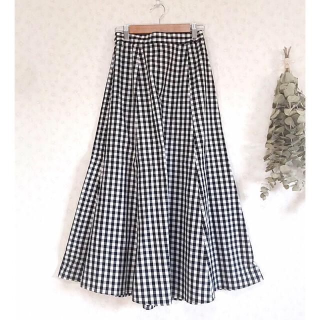 SM2(サマンサモスモス)のri-na様専用*新品◎サマンサモスモス ギンガムチェックマーメイドスカート レディースのスカート(ロングスカート)の商品写真
