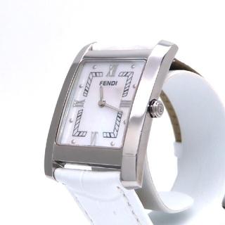 フェンディ(FENDI)の【FENDI】フェンディ 時計 'クラシコ' ホワイトシェル ☆美品☆(腕時計)