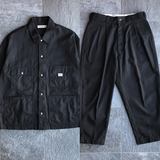 COOTIE - COOTIE T/C Serge Short Coverall セットアップ