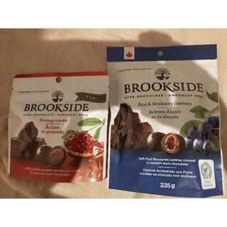 チョコレート(chocolate)のブルックサイド ダークチョコレート アサイ ブルーベリー ザクロ (菓子/デザート)