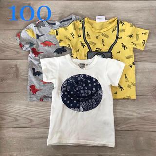 H&H - H&M  半袖Tシャツ 3枚セット 100