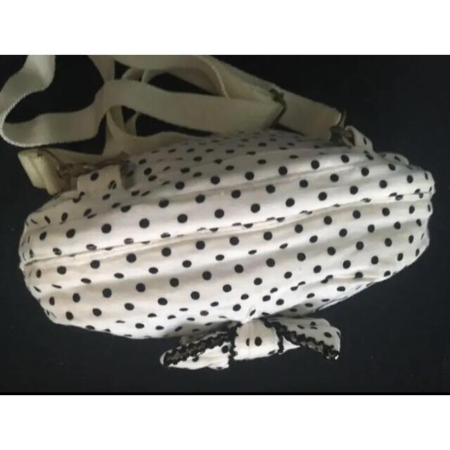 INGEBORG(インゲボルグ)のインゲボルグ  ショルダーバック♡ドット りぼん ピンクハウスグループ レディースのバッグ(ショルダーバッグ)の商品写真