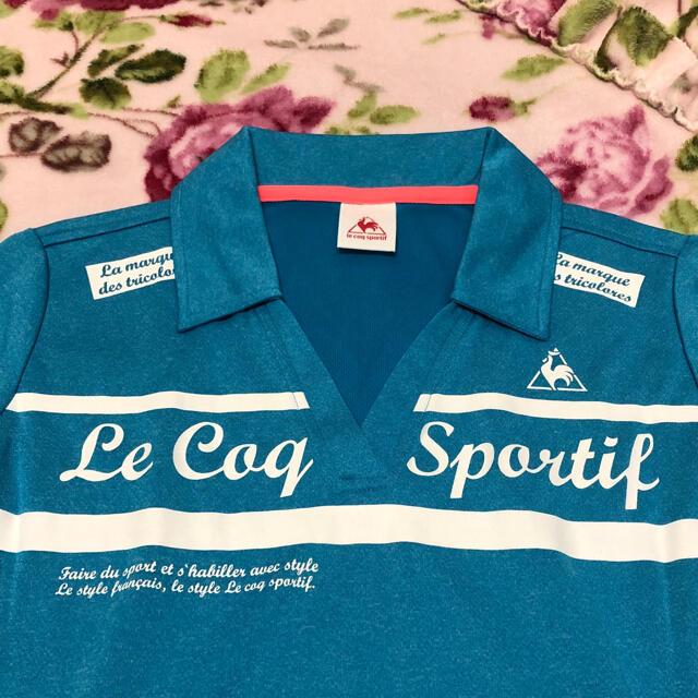 le coq sportif(ルコックスポルティフ)のle coq sportif ルコック レディース 水色 Tシャツ スポーツ/アウトドアのトレーニング/エクササイズ(トレーニング用品)の商品写真