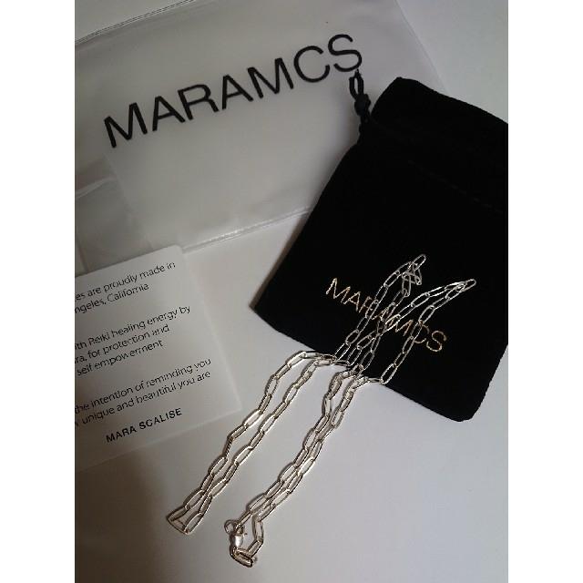 L'Appartement DEUXIEME CLASSE(アパルトモンドゥーズィエムクラス)のマラムクス MARAMCS ネックレス レディースのアクセサリー(ネックレス)の商品写真