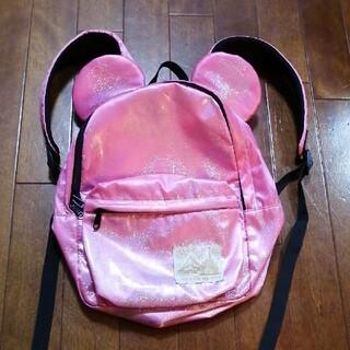 Disney - ディズニーリゾート リュック ピンク ミニーちゃん