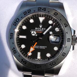 ROLEX - ロレックス エクスプローラー2 216570 2020年印 黒文字盤 極美品