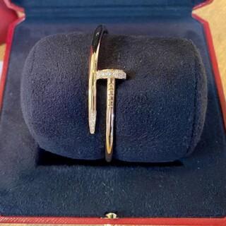 Cartier - 極美品!Cartier ジュストアンクル ブレスレット