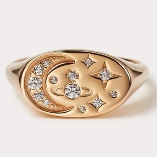 Vivienne Westwood - 新品・DORINA Ring Gold sizeL