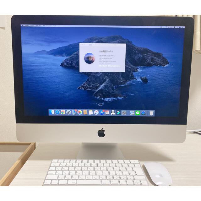 Mac (Apple)(マック)のiMac 4K 21.5インチ 32GB コアi7  1TBSSD 2019 スマホ/家電/カメラのPC/タブレット(デスクトップ型PC)の商品写真