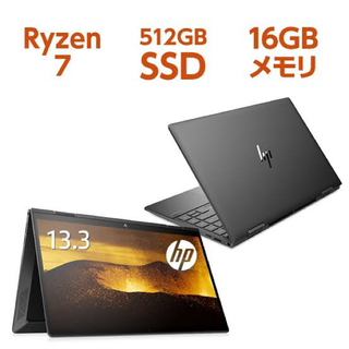 新品 hp ENVY X360 13-ay0050AU RYZEN7 16GB