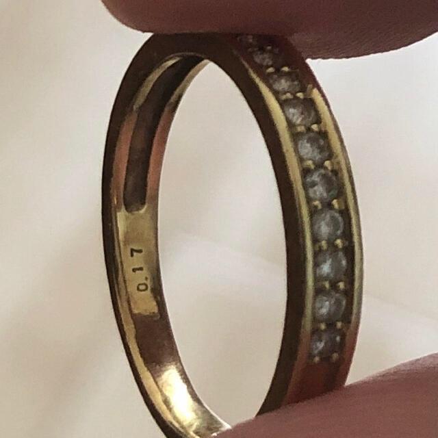ゴールド リング 指輪 k18 レディースのアクセサリー(リング(指輪))の商品写真