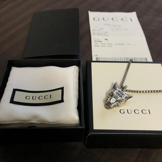 Gucci - 付属品完備 gucci ウルフ ネックレス