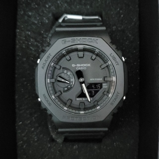 G-SHOCK - 新品未使用G-SHOCK 腕時計 GA-2100-1A1JF オールブラック