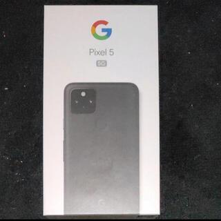 Google Pixel - 【新品未使用】Google Pixel 5 Just Black SIMフリー