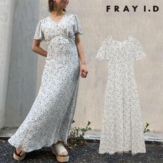 FRAY I.D - FRAY I.D フラワープリントロングワンピース