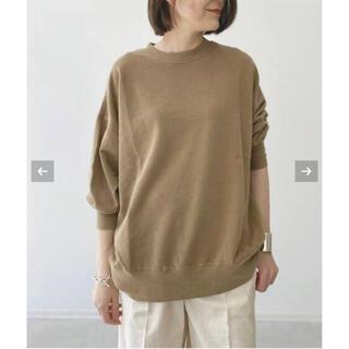 L'Appartement DEUXIEME CLASSE - 【R JUBILEE】Oversize Sweat Shirts  キャメル