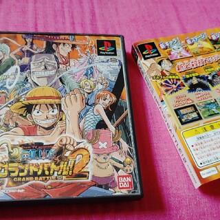 プレイステーション(PlayStation)のPS ワンピースグランドバトル2 2枚セット(家庭用ゲームソフト)