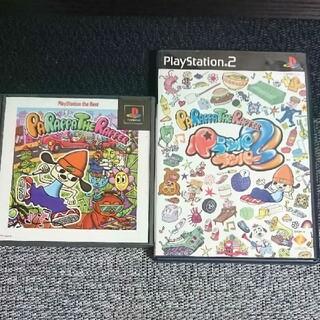 プレイステーション(PlayStation)のPS PS2  パラッパラッパー 1&2セット(家庭用ゲームソフト)