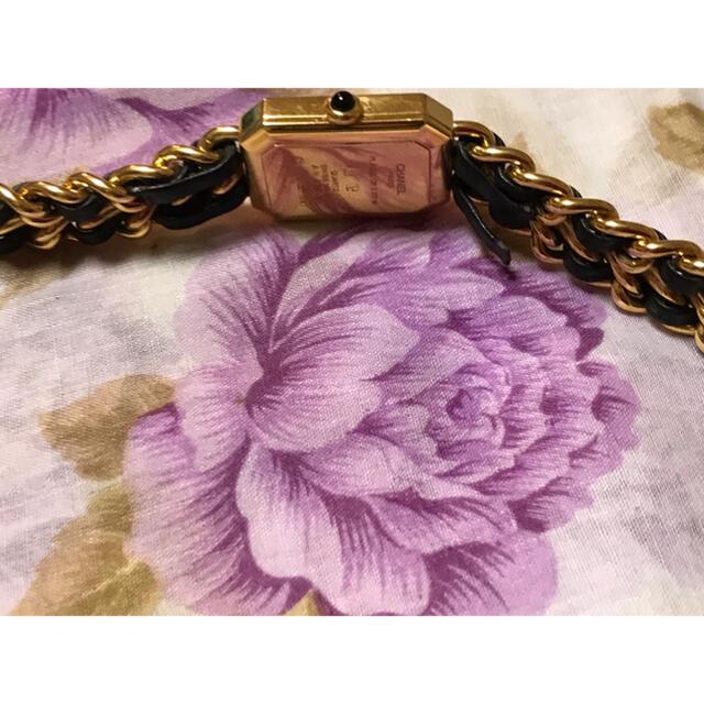 CHANEL(シャネル)のシャネル プルミエール クォーツ チェーンウォッチ 時計 レディースのファッション小物(腕時計)の商品写真