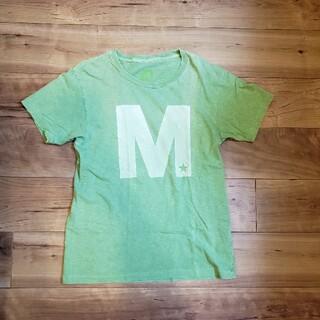 エム(M)の人気 Mエム グリーン ロゴTシャツ TAKUYA∞(Tシャツ/カットソー(半袖/袖なし))