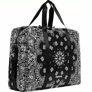 Supreme - Bandana Tarp Large Duffle Bag  撥水のラミネート
