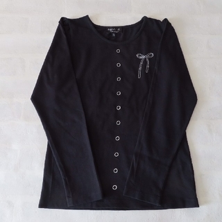 agnes b. - アニエスベー キッズ☆ ボタンプリントTシャツ 12ans 140-150cm