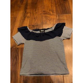 ジルスチュアート(JILLSTUART)のTシャツ トップス ボーダー(Tシャツ(半袖/袖なし))
